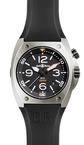 Bell & Ross Marine Automatic BR 02 92 Steel