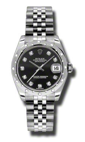 Rolex 178344 bkdj Oyster Perpetual Datejust Watches 31mm