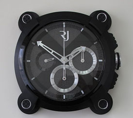 Настенные часы Romain Jerome Moon Invader Wall Clock