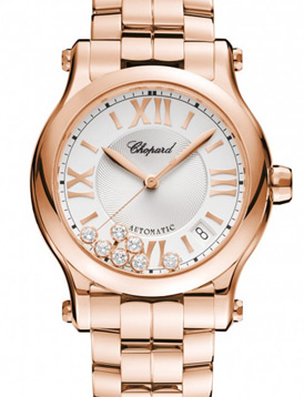 Chopard 274808-5002 Happy Diamonds Happy Sport Medium Automatic