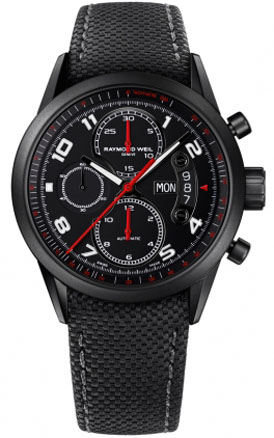 Raymond Weil 7730-BK-05207 Freelancer Urban Black