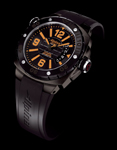 Alpina AL-525LBO5FBAEV6. Extreme Diver 1000 Meters - Orange Sunset
