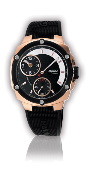 Alpina  AL-650LBBB5AE4.  Avalanche Extreme Regulator-Rose Gold