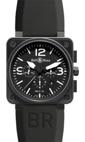 Bell & Ross Aviation Chronograph BR 01-94 carbon