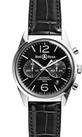 Bell & Ross Vintage Chronograph BR 126 Officer Black