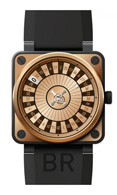 Bell & Ross Aviation BR01-92 Casino Rose Gold Carbon