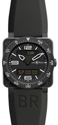 Bell & Ross  BR03 Type Aviation Carbon BR03 Type Aviation Quartz 42mm