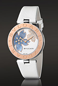 Bulgari BZ35FDSGL B.Zero1 30mm Mediterranean Flower Two-Tone Watch