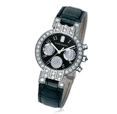 Harry Winston  	200/UCQ32WL.KD/D3.1 Premier Excenter Chronograph 125 белых бриллиантов  2,37 карата