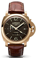 Officine Panerai Luminor 1950 8 Days GMT Oro Rosa PAM00289