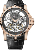 Roger Dubuis 	EX45-01SQ-50-00-0E000-B Excalibur Double Tourbillon. Лимитированный выпуск 88 шт.