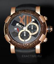 Romain Jerome. Style # : Titanic DNA ChronographUltimateСH.T.OXY4.2222M.00.BB.  Rusted Steel T-Oxy IV  Лимит =500 шт.!!!