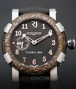 Romain Jerome. Style #: Titanic DNA T.OXY4.11BB.M.00.BB.    Rusted Steel T-Oxy IV Ultimate. Лимитированный выпуск= 500 шт.!!!