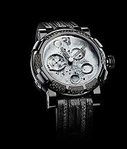Romain Jerome. Style #: MW.FB.BBBB.00.BB Moon Dust-DNA Black Mood