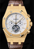 Audemars Piguet 25977BA.OO.D088CR.01 Royal Oak Chrono Tourbillon.18k Yellow Gold