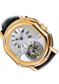 DANIEL ROTH.Style # :197.X.40.  8 Day Tourbillon.18 carat gold
