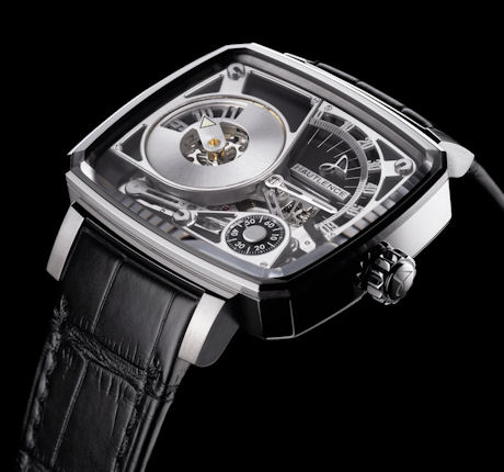 Hautlence HL08 18K white gold Limited Edition of 88 pieces