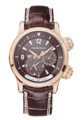 Jaeger LeCoultre.Style # :171.24.40.Master Compressor Geographic.18kt Rose Gold